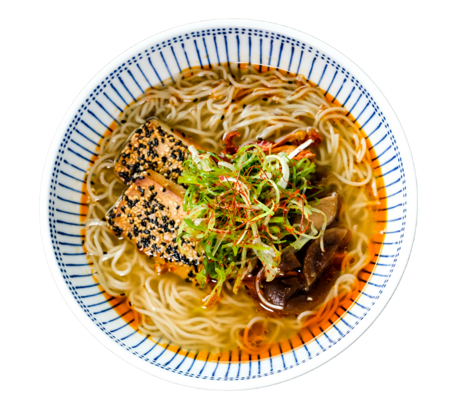 Copy of Copy of Copy of A hearty and satisfying ramen inspired by the Sapporo region of Japan, featuring miso chicken broth and pork chashu.
